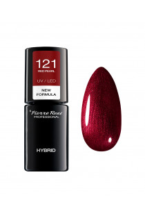 Hybrid Coloured Polish new 121 RED PEARL