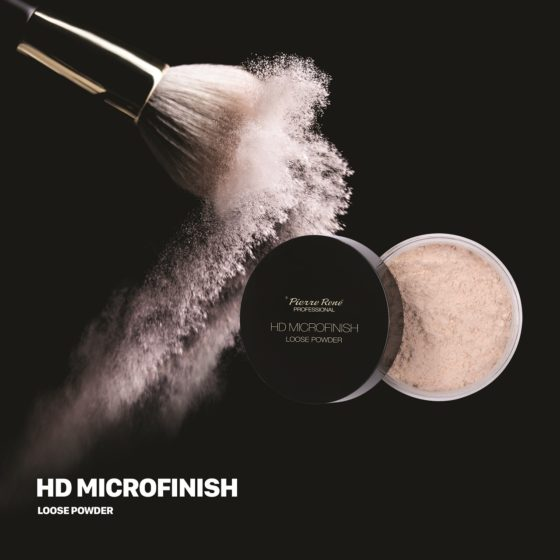 Puder sypki HD Microfinish Loose Powder Pierre Rene – test i recenzja